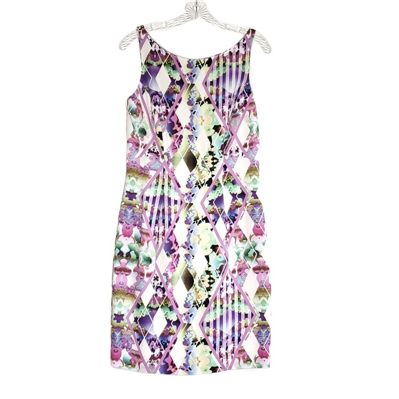 Milly Dresses & Skirts - MILLY Sleeveless Purple Multi Colored Dress Size 6